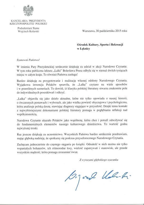 https://mok.leknica.pl/wp-content/uploads/2016/04/Podziękowanie-od-Kancelarii-Prezydenta.jpg